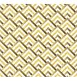 Geometric gold glittering seamless pattern on vector image