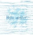 winter grunge background vector image