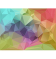 Fragmented Background vector image vector image