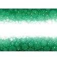 Christmas stars green stripes EPS 8 vector image vector image