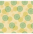 seamless abstract ornament dots vector image