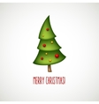 Funny christmas trees vector image