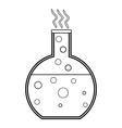 Laboratory glass vector image
