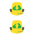 Download And Upload Icons 31 vector image vector image