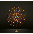 Abstract 3d design element emblem vector image vector image