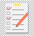 check list transparent checklist icon pictogram vector image