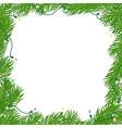 natural square frame vector image