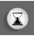 Time Glossy Icon vector image