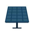 Solar panel cartoon vector image