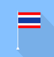 Flag of Thailand vector image