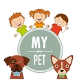 pet care vector image