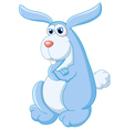 The big bunny cartoon vector image