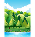 National Park vector image vector image