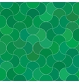Abstract seamless scale green pattern vector image