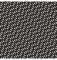 Seamless Black And White Diagonal Lines vector image