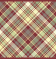 check plaid fabric texture seamless pattern vector image