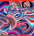 bright graphics multicolored abstraction vector image