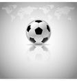 football mirror vector image vector image