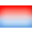 Blue Serenity Red Gradient Background vector image