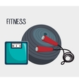 sports fitness design vector image