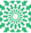 Green Round Arrows Background vector image