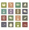 jogging icon set vector image