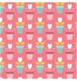 flat seamless patterns vector image