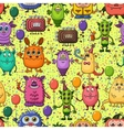 Cartoon Monsters Seamless vector image
