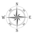 ancient wind rose 01 vector image