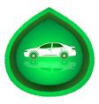 Eco Car Concept vector image