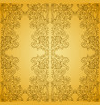 seamless vintage gold pattern vector image