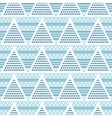 Triangles geometric abstract seamless pattern vector image