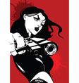 Woman killer vector image vector image