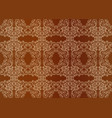 Seamless vintage gold ornament vector image
