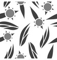 pattern in flower style vector image vector image