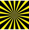yellow-black background vector image vector image