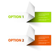 options red green hranate vector image