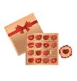 chocolates vector image