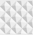 grey triangles seamless pattern vector image