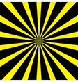 Yellow-black background vector image