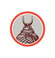 Samurai Warrior Katana Sword Attacking vector image vector image