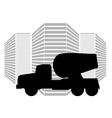 Car-Mixer vector image
