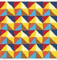 ornate rough edges geometric background vector image