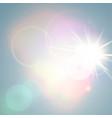 shiny sunny abstract background vector image