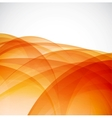 Sunshine orange background vector image vector image
