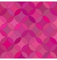 Abstract seamless rosette red pattern vector image