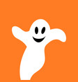 flying ghost spirit vector image