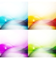 Wave color backgrounds vector image vector image