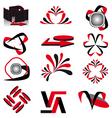 collection of symbols for design vector illustrati vector image