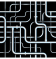Seamless tubes vector image
